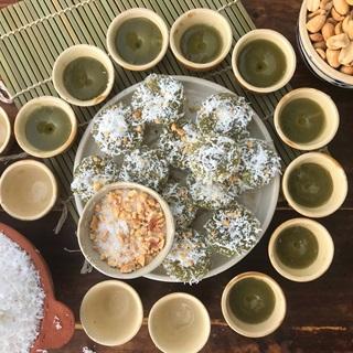 Cách Làm Bánh Bèo Ngọt Lá Dứa | Dân Dã Ngon Thơm