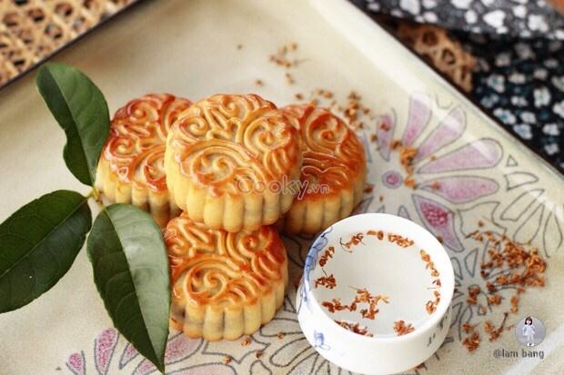 Cách làm bánh trung thu vị dừa cực ngon - ảnh 2.