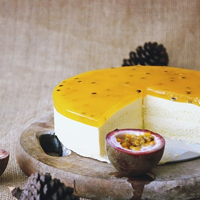Cách làm passion fruit cheesecake