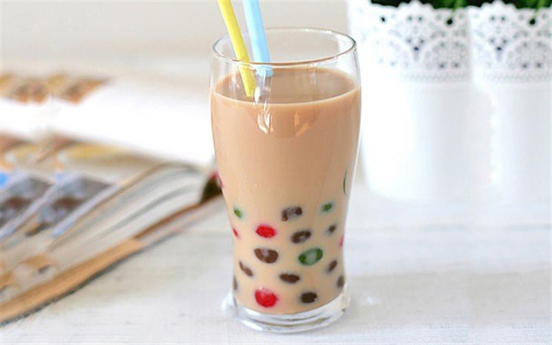 Cách làm trà sữa trân châu thạch phô mai