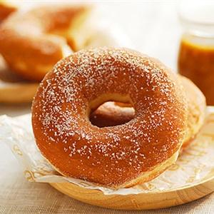 Bánh donut bằng chảo chống dính