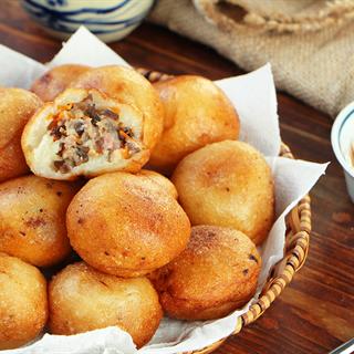 Cách Làm Bánh Rán Mặn Thơm Ngon | Đơn Giản Tại Nhà