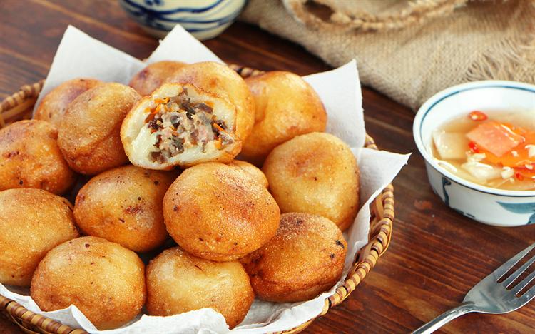 Cách làm Bánh rán mặn