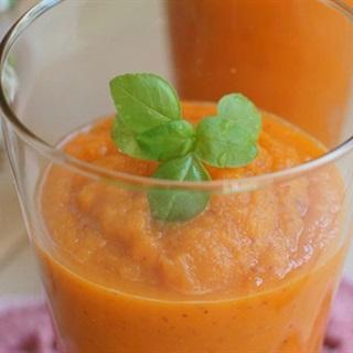 Sinh tố cà rốt rau củ