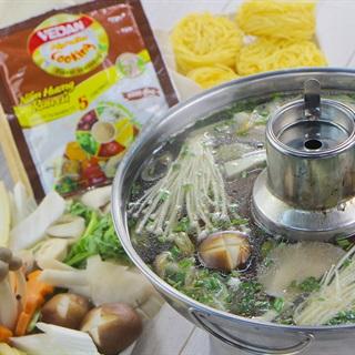 Cách nấu Lẩu nấm chay