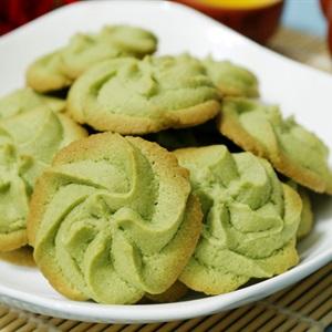 Bánh quy bơ vị trà xanh
