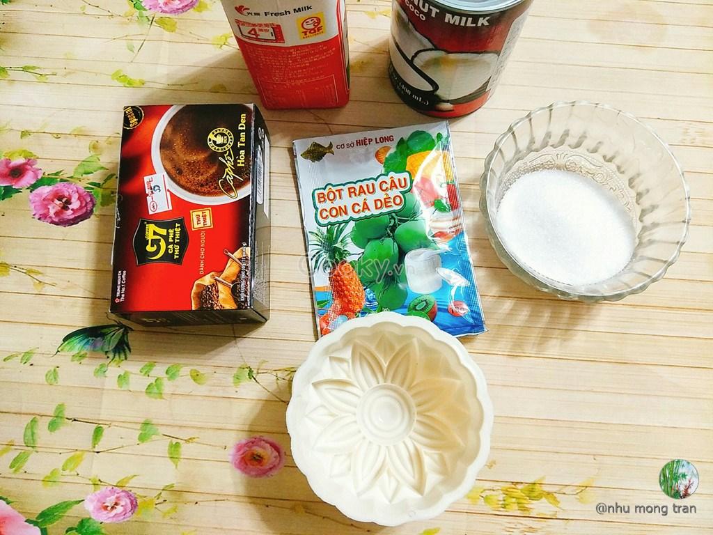 Cách làm bánh trung thu rau câu cà phê thơm ngon lạ miệng - ảnh 1.