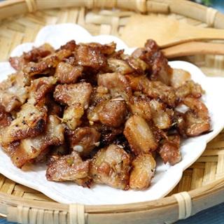 Thịt ba chỉ ướp sả nướng