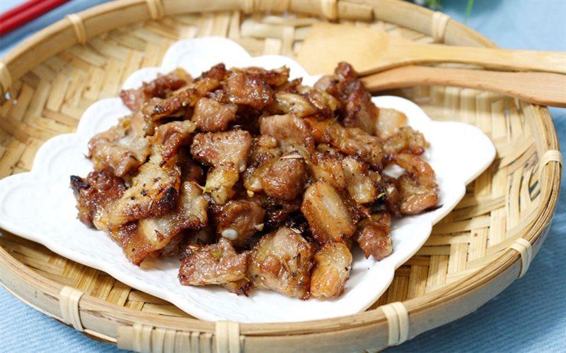 Cách làm thịt ba chỉ ướp sả nướng