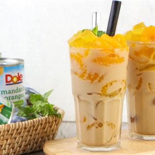 Cách làm Trà sữa thạch cam Mandarin