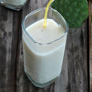 Sữa hạt sen bổ mát