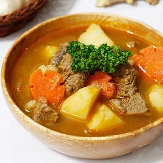 Cách làm thịt bò sốt vang béo thơm