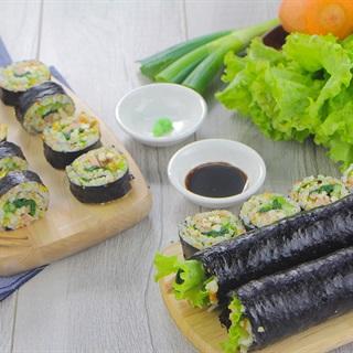 Cách làm Sushi chay