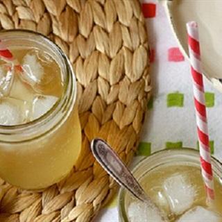 Cách pha soda mật ong trà hoa cúc