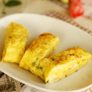 Cách làm Trứng Chiên Phô Mai đổi vị cho bữa cơm gia đình