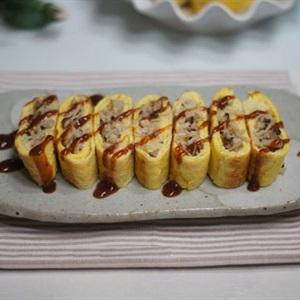 Trứng cuộn nấm