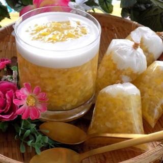 Chè bắp bột báng cốt dừa