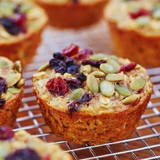 Cách làm bánh muffin yến mạch
