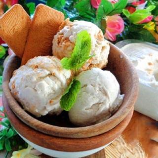 Cách làm Kem Xôi Dừa mát lạnh, giải nhiệt ngày hè
