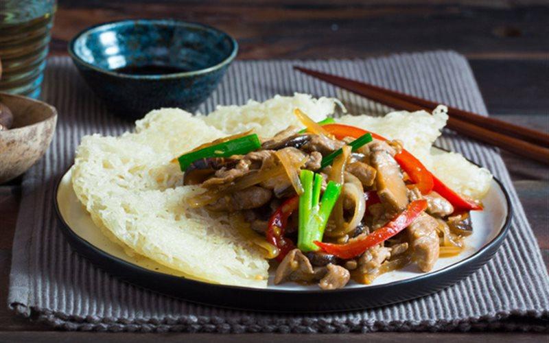 Cách làm mì gạo xào giòn