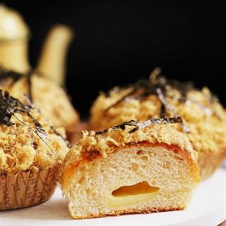 Bánh mì chà bông rong biển