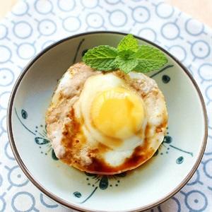 Trứng cút hấp thịt