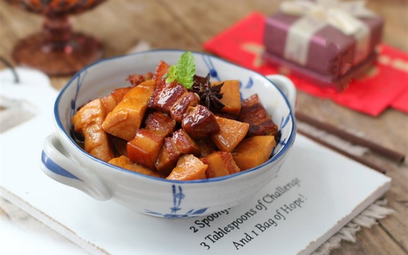Cách làm Thịt Kho Măng Tươi giòn ngon đậm đà đưa cơm