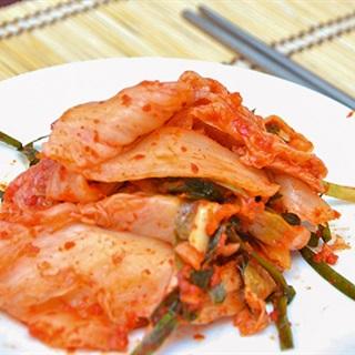 Kimchi cải thảo theo kiểu Hàn Quốc