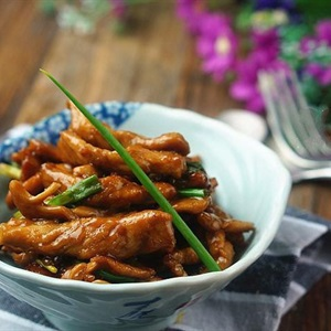 Thịt rim nước tương