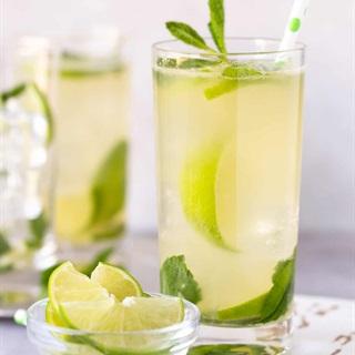 Cách làm cocktail chanh xanh và bạc hà