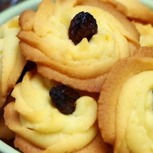 Bánh quy bơ nho khô