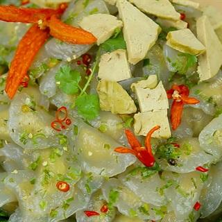 Bánh bột lọc chay nhân đậu xanh