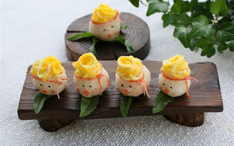 Cách làm sushi cơm trứng