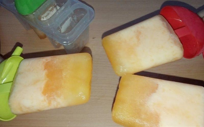 Cách làm kem cam que