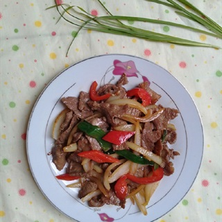 Cách làm thịt đà điểu xào rau củ