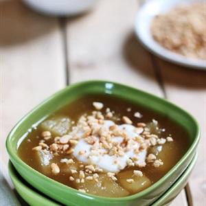 Chè khoai mì nước cốt dừa ngọt mát