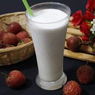 Cách làm Sinh Tố Vải sữa tươi thơm ngon và mát lạnh
