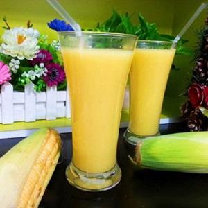 Sữa bắp đơn giản tại nhà