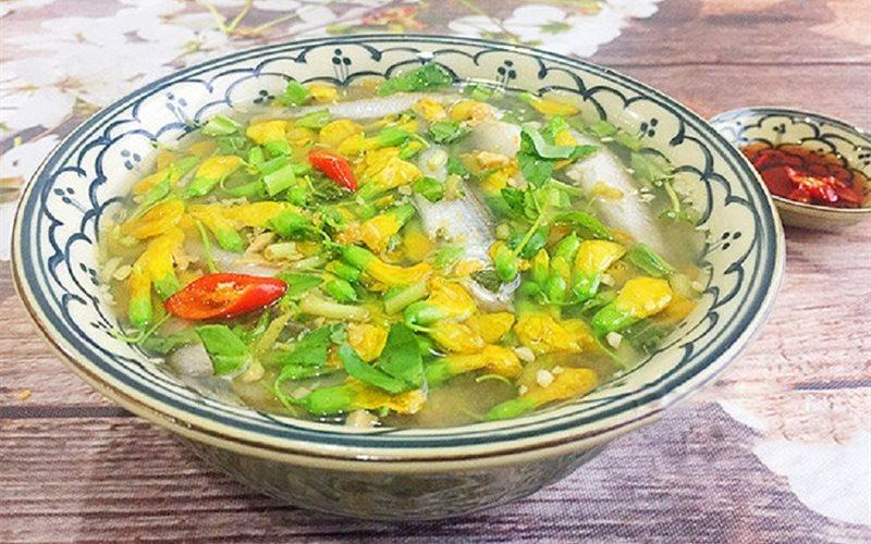 Cách làm canh chua cá linh bông điên điển miền Tây