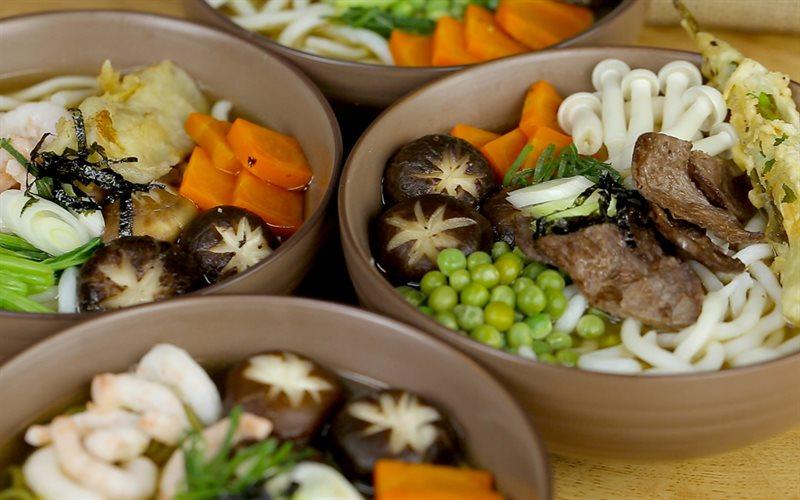 Cách nấu Mì udon chay