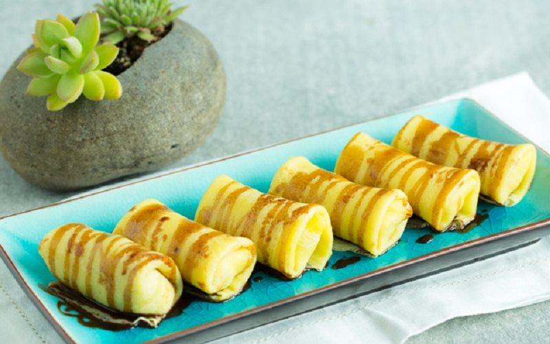 Cách Làm Bánh Crepe Chuối | Thơm Ngon, Ăn Là Ghiền