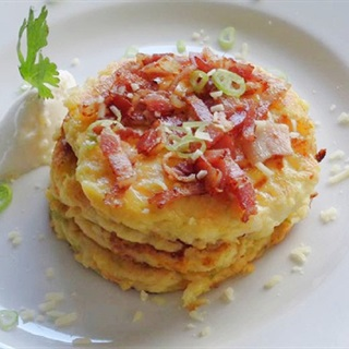 Cách làm pancake khoai tây