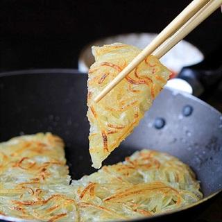 Cách làm bánh pancake khoai tây