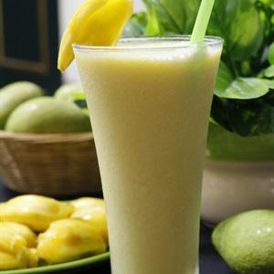 Sinh tố sữa chua mít