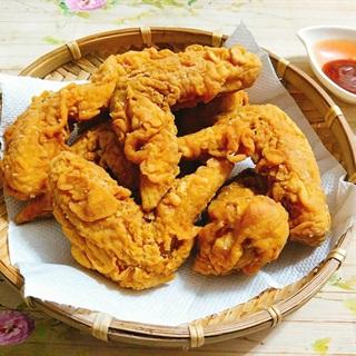 Cách làm cánh gà chiên kiểu KFC