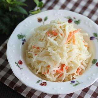 Cách làm salad bắp cải cà rốt