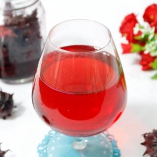 Cách làm siro hoa atiso đỏ