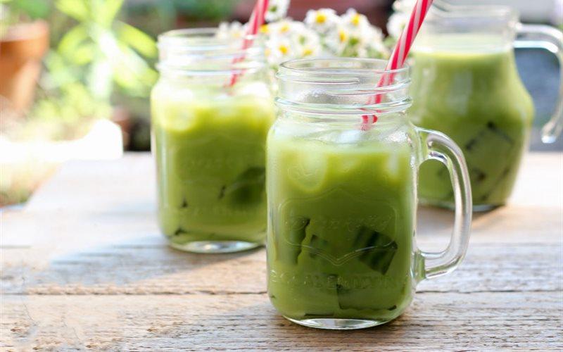 Cách làm trà sữa xanh Thái Lan