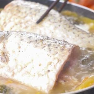 Cá chép om dưa