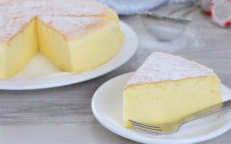 Cách Làm Bánh Bông Lan Phô Mai Nhật Bản Thơm Ngon